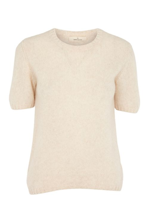 Basic Apparel T-shirt Marnie Tee Caolino Rose Mel Front