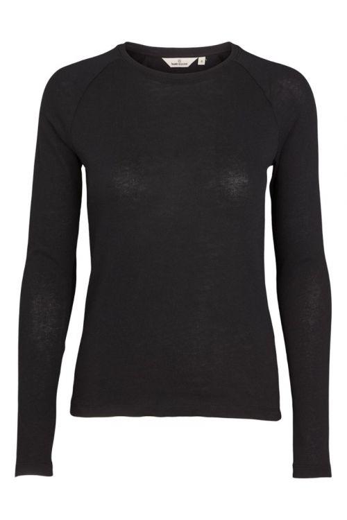 Basic Apparel - Bluse - Arina LS Tee - Black