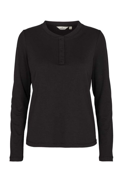 Basic Apparel - Bluse - Laila LS Tee - Black
