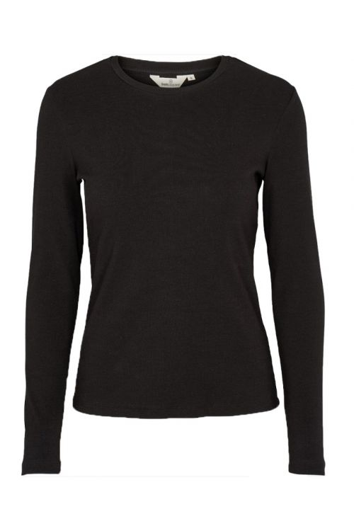 Basic Apparel - Bluse - Ludmilla LS Tee - Black