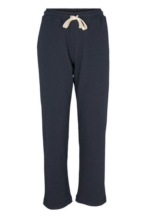 Basic Apparel Bukser Barbara Pants Navy Front