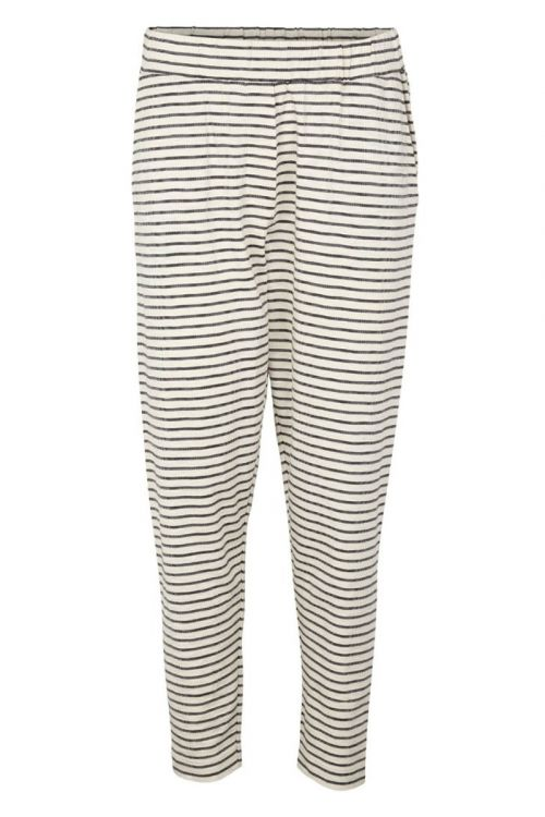 Basic Apparel - Bukser - Saga Pant - Off White/black