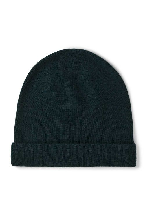 Basic Apparel Hue Vera Beanie Sea Moss Front