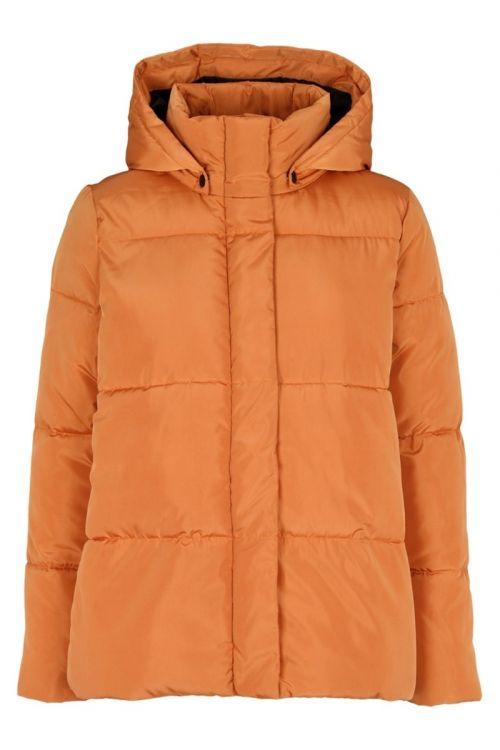 Basic Apparel Jakke Dagmar Short Jacket Roasted Pecan Front