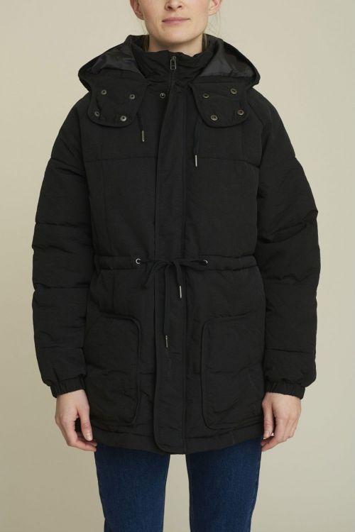 Basic Apparel Jakke Dora Jacket Black Front