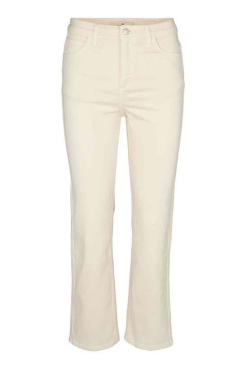 Basic Apparel Jeans Ellen Jeans Garment Dyed Birch Front