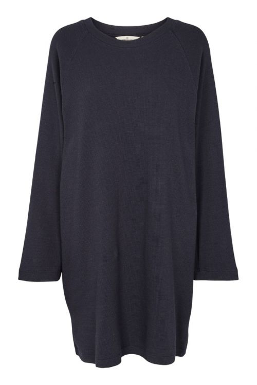 Basic Apparel - Kjole - Barbara Dress - Navy