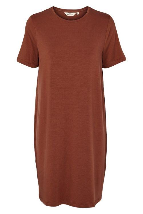 Basic Apparel Kjole Jolanda Tee Dress Mink Front