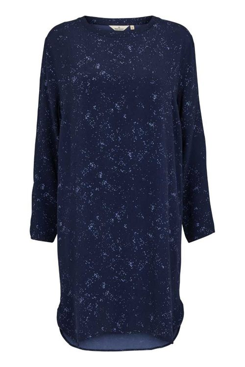 Basic Apparel Kjole Nicola Dress Winter Blue Front