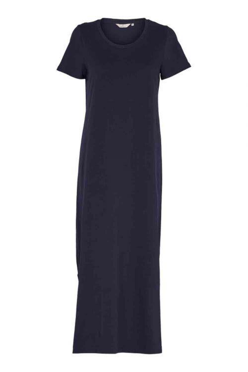 Basic Apparel Kjole Rebekka Dress Navy Front