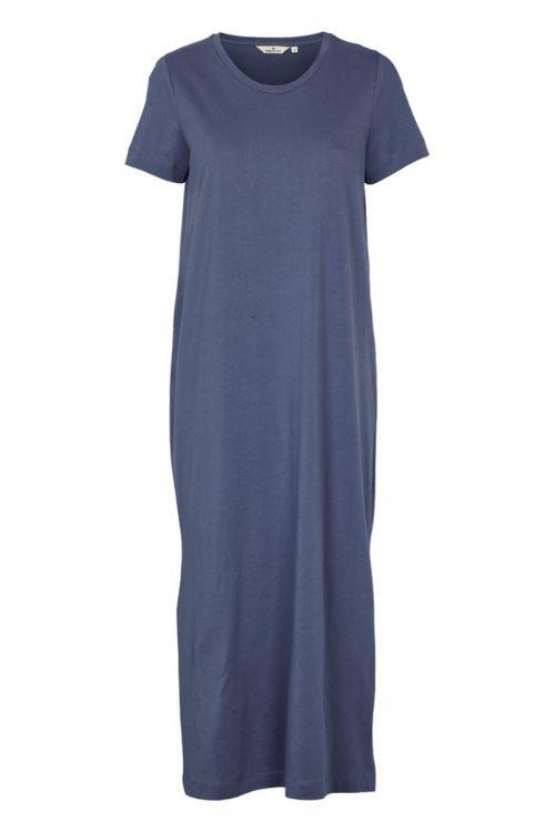 Basic Apparel Kjole Rebekka Dress Vintage Indigo Front