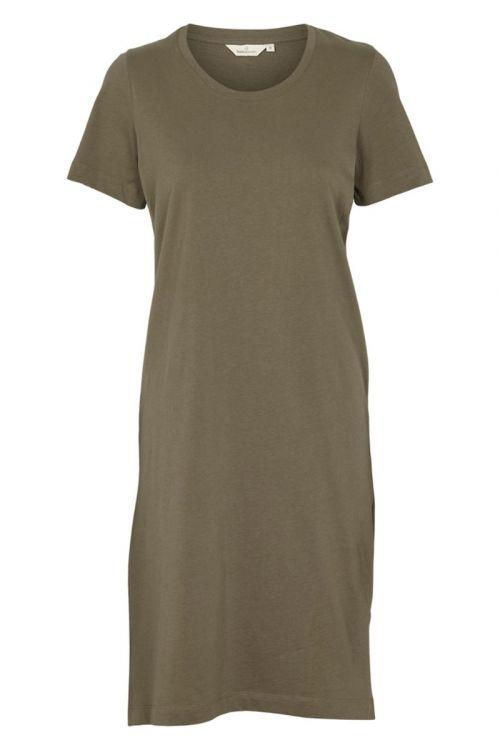 Basic Apparel - Kjole - Rebekka Short Dress - Army