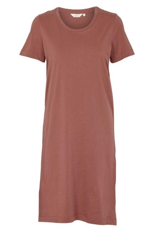 Basic Apparel - Kjole - Rebekka Short Dress - Mink
