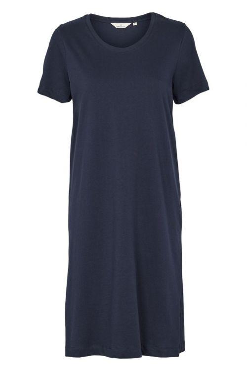 Basic Apparel - Kjole - Rebekka Short Dress - Navy