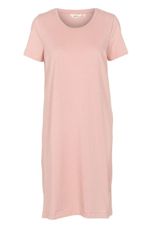 Basic Apparel - Kjole - Rebekka Short Dress - Rose Tan