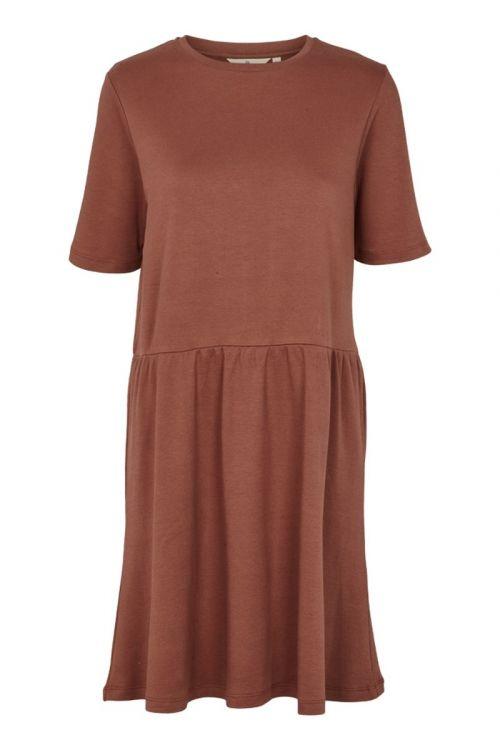 Basic Apparel Kjole Signe Dress Mink Front