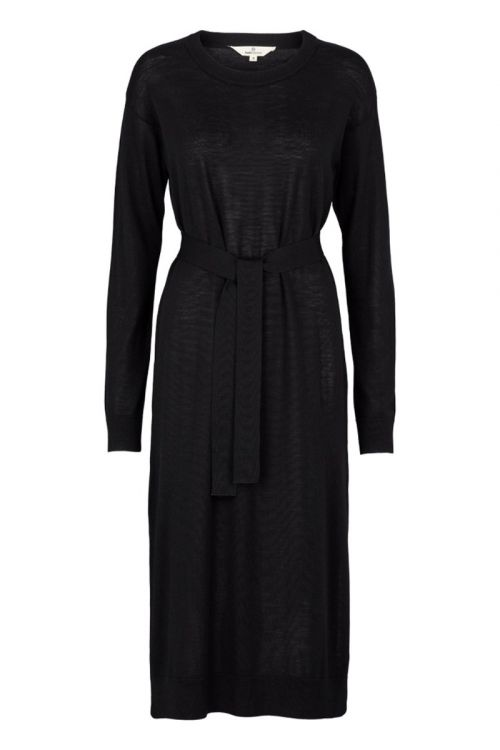 Basic Apparel Kjole Vera Long Dress Black Front
