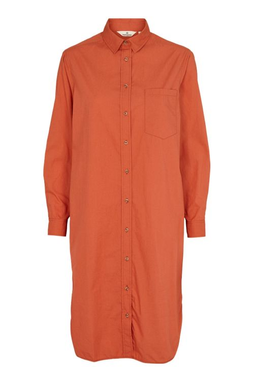 Basic Apparel Kjole Vilde Shirt Dress Ginger Spice Front