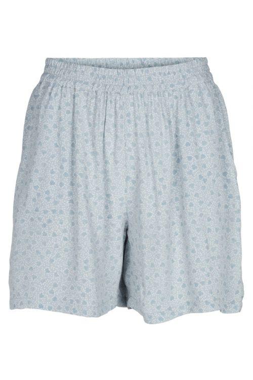 Basic Apparel - Shorts - Nella Shorts - Celestial blue