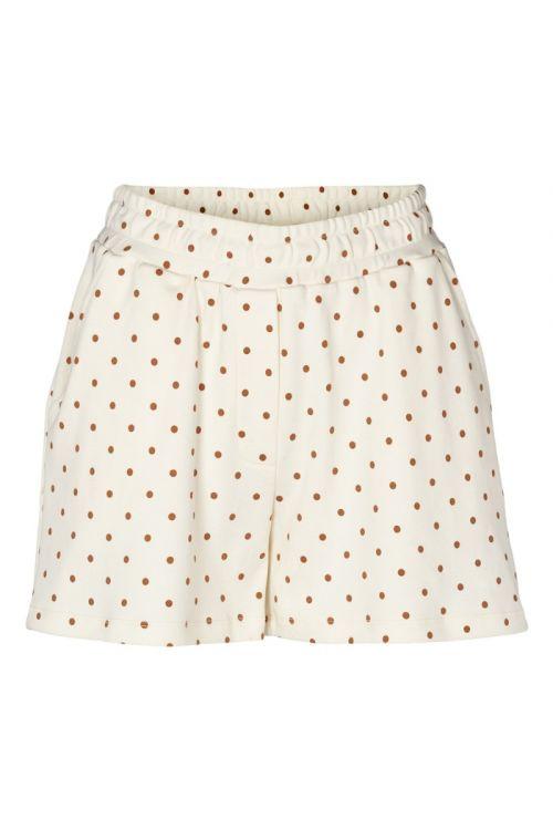 Basic Apparel Shorts Saga Shorts Organic GOTS Off-White Front