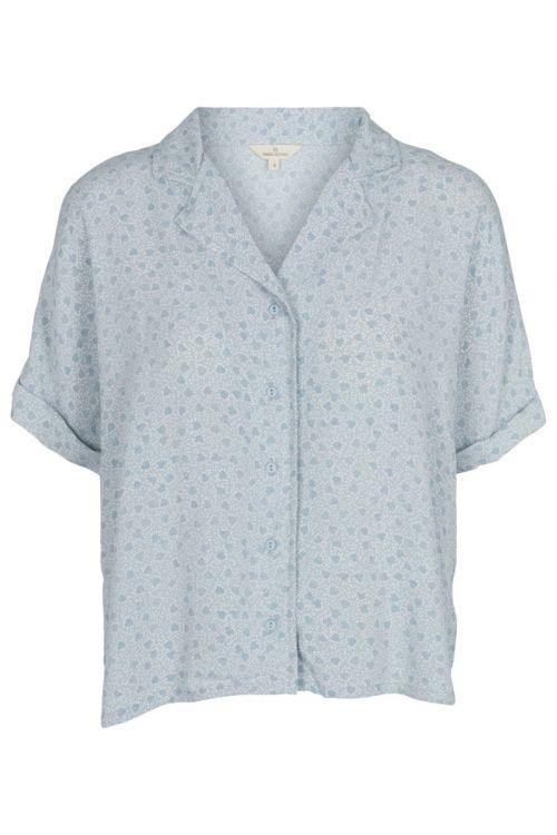Basic Apparel - Skjorte - Nella SS Shirt - Celestial blue