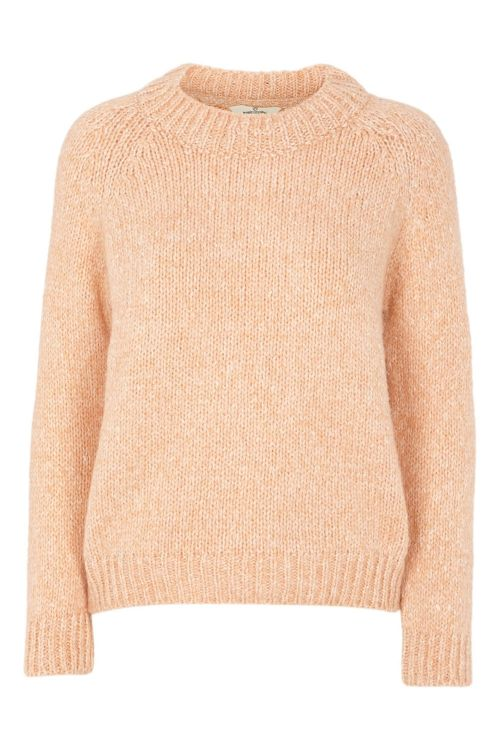 Basic Apparel Strik Aliki Sweater Dusty Coral Mel Front