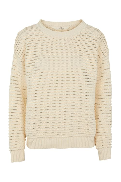 Basic Apparel Strik Enya Sweater Whisper White Front