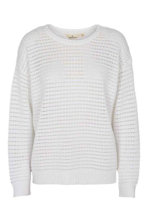 Basic Apparel Strik Enya Sweater White Front