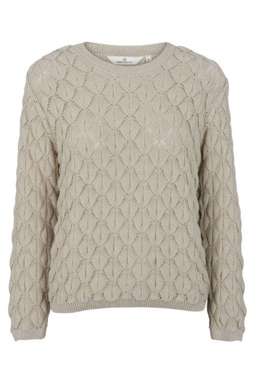 Basic Apparel - Strik - Milla Sweater - Moss Gray