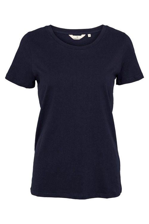 Basic Apparel T-shirt Rebekka Tee Organic Navy Front