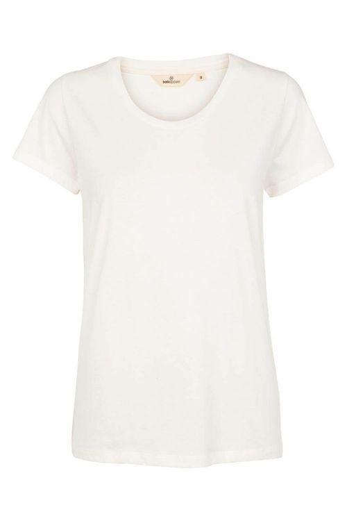 Basic Apparel T-shirt Rebekka Tee Organic White Front