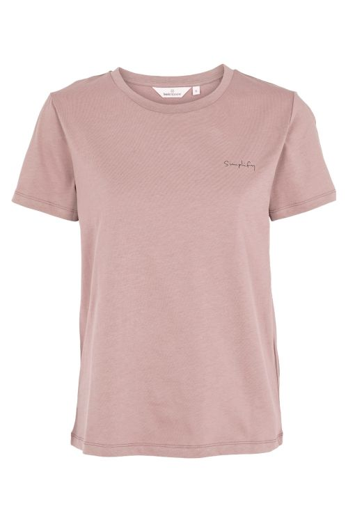 Basic Apparel T-shirt Simplify Tee Woodrose Front