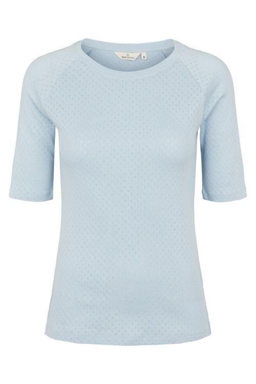 Basic Apparel - T-shirt - Arense Tee - Cashmere Blue