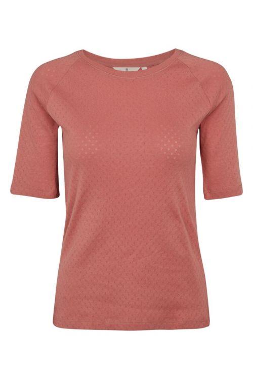 Basic Apparel - T-shirt - Arense Tee - Old Rose