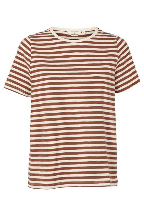 Basic Apparel T-shirt Rita Tee Mink Front