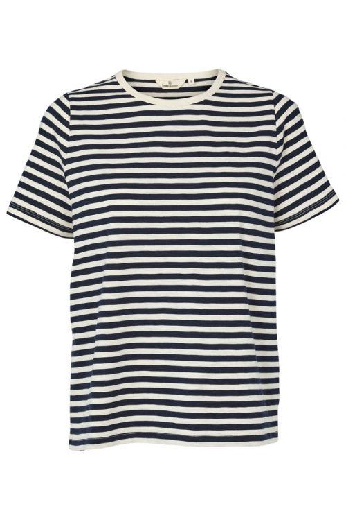 Basic Apparel T-shirt Rita Tee Navy Front