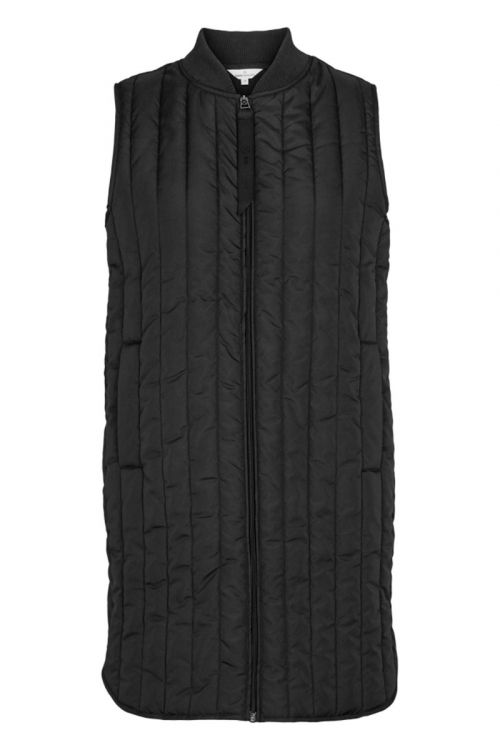 Basic Apparel - Vest - Louisa Vest - Black