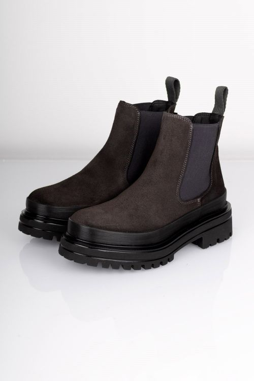 Bianco - Sko - Dicy Chelsea Boot - Dark Brown
