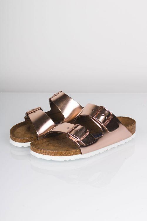Birkenstock Sandal Arizona BS Metallic Copper Front