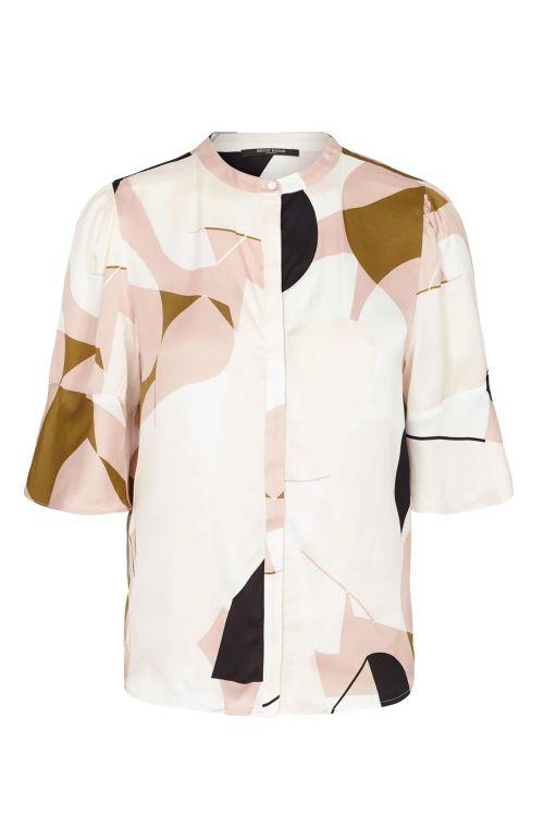 Bruuns Bazaar Bluse melody Hannah Shirt Melody Artwork Front