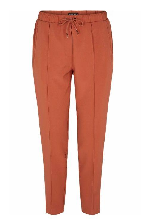 Bruuns Bazaar Bukser Ruby Livia Pant Cinnamon Front