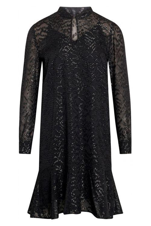 Bruuns Bazaar Kjole Alexandria Camari Dress Black Front