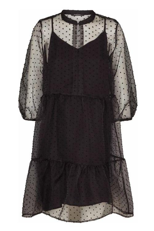 Bruuns Bazaar Kjole Biella Kerstine Dress Black Front