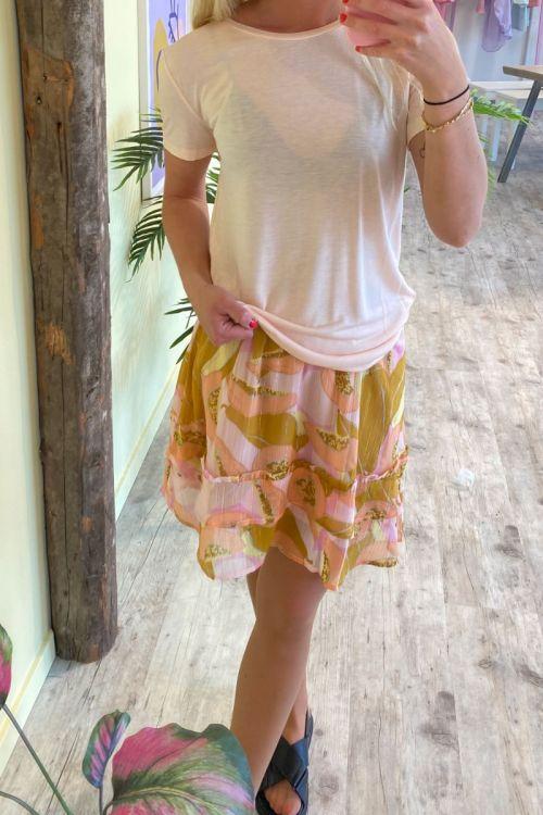 Bruuns Bazaar - T-shirt - Katka SS T-shirt - Misty Rose