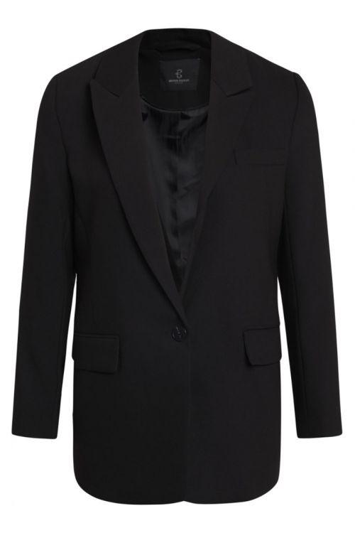 Bruuns Bazaar - Blazer - CindySus Frida Blazer - Black