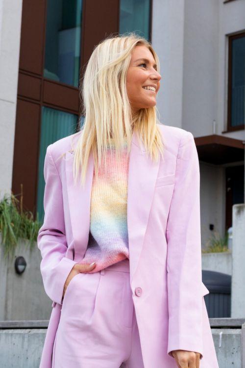 Bruuns Bazaar - Blazer - CindySus Frida Blazer - Pink Lavender