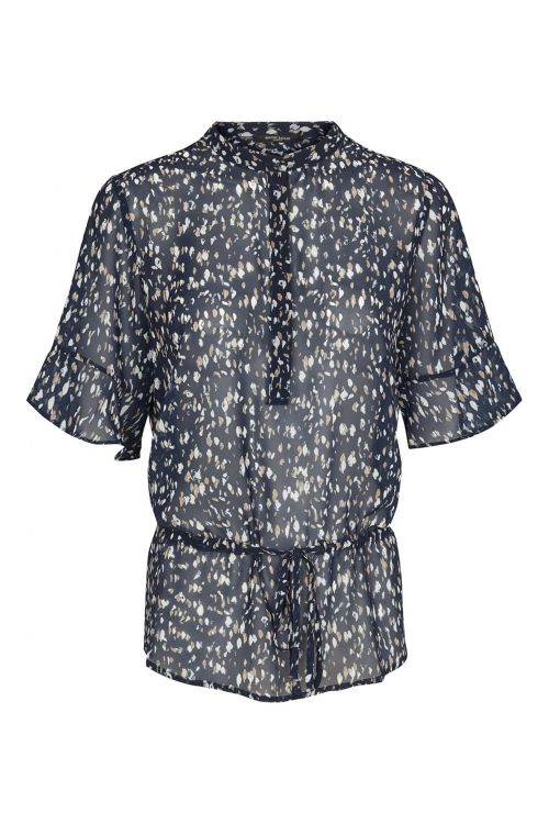 Bruuns Bazaar Bluse Haze Beatrice Shirt Navy sky Front