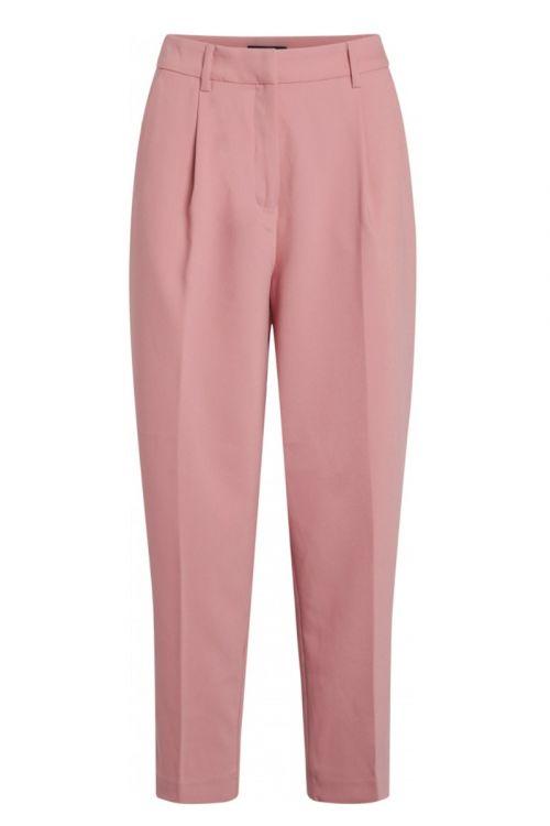 Bruuns Bazaar Bukser CindySus Dagny Pants Dusty Rose Front