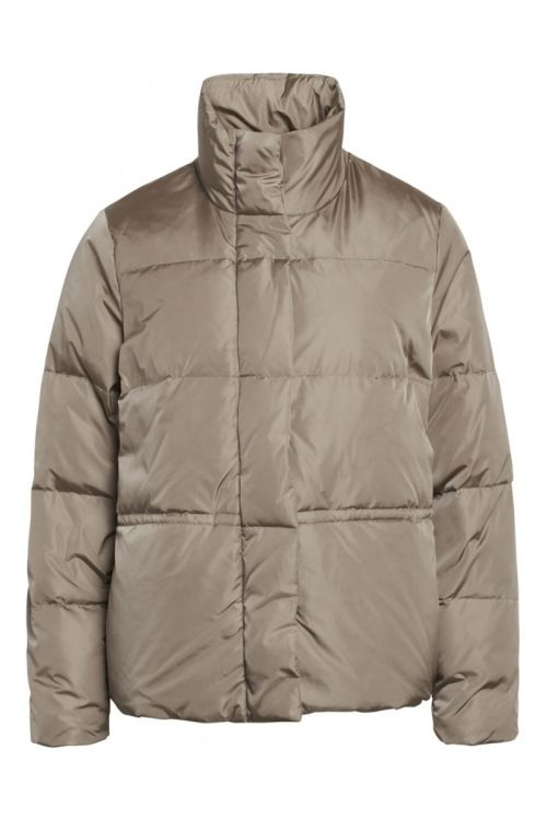 Bruuns Bazaar Jakke Down Lullu Jacket Roasted Grey Front