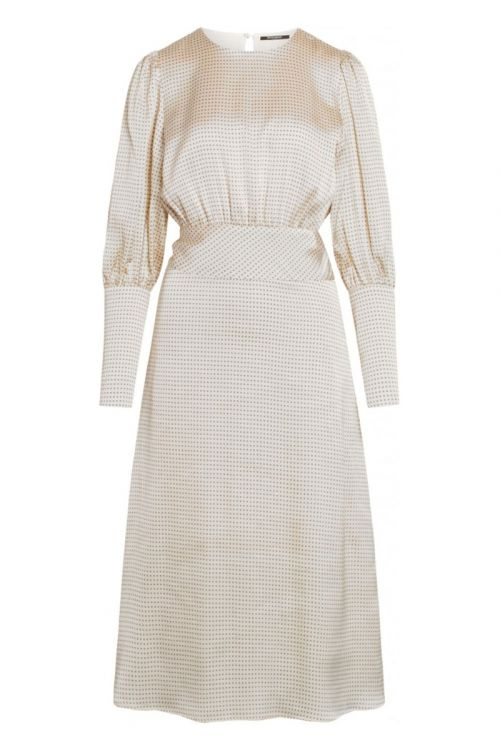 Bruuns Bazaar Kjole Acacia Ellisa Dress White Cream Front